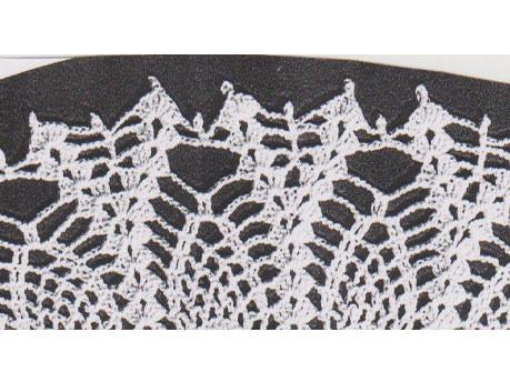 Crochet edge for shawl and pillowcase