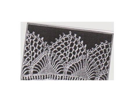 Crochet edge for wrap/pillowcase Called Sophia