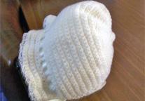 Poke bonnet crochet
