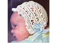 Crochet bonnet Called Bonnie