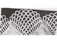 Crochet shawl edges and pillowcases
