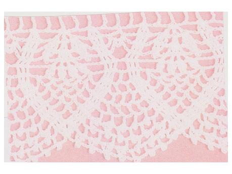 Crochet shawl and pillowcase edges