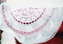 Crochet Round Shawl