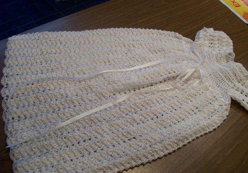 Silk Crochet Dress