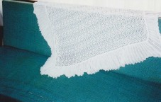 Machine Knitted Pillowcase