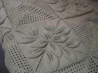 Leaf square shawl
