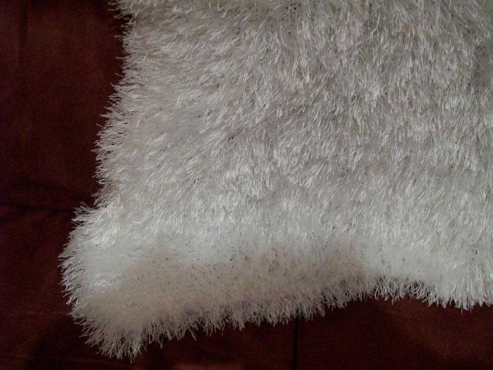 Square fluffy shawl White/cream/pink/blue any colour