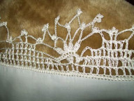 Crochet with edging detail Called Fushia