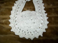 Crochet bibs Cotton