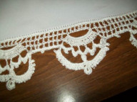 Crochet edging detail Called Crown patterns