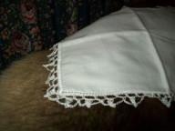 Crochet edges for sick rag or burp rags