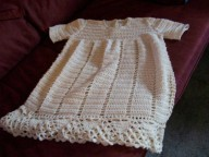 This is done in silk also on request a knitted one can be done. Available in most colours.