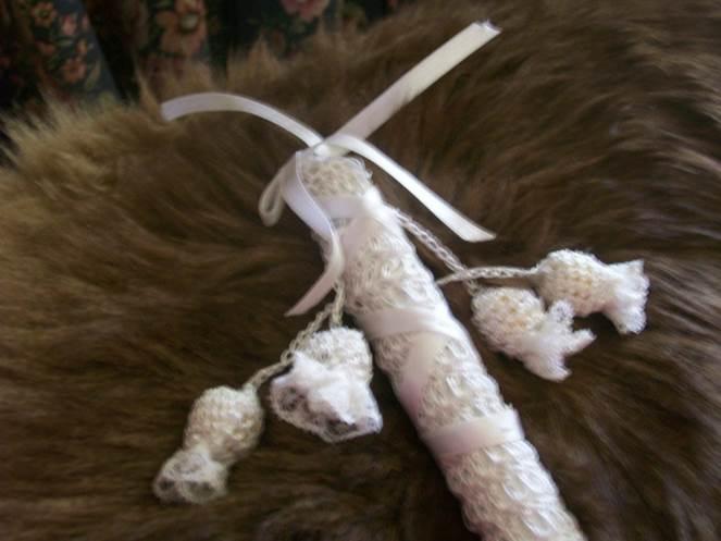 Silk Stick Bell Rattle